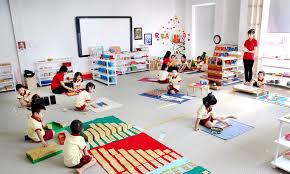 5 lĩnh vực của phương pháp Montessori
