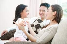 Ba mẹ hãy là tấm gương cho con