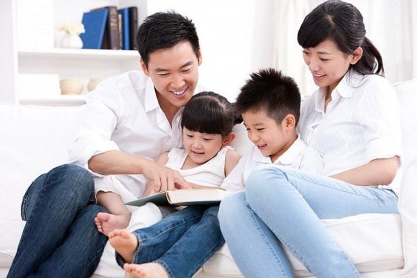 Đồng hành cùng con đọc sách